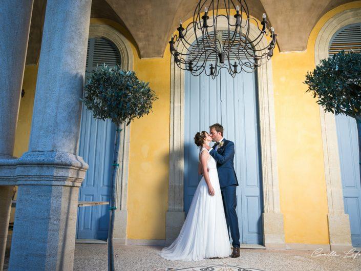 Mariage au Château de Sainte Cécile : chic et champêtre