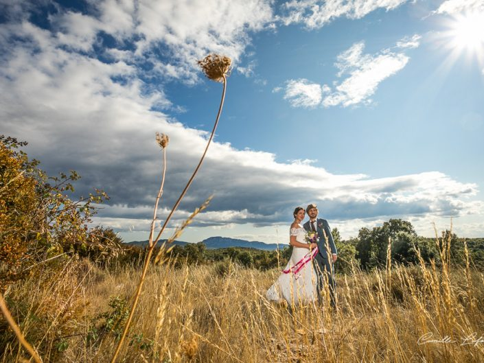 Wedding in Domaine Mas Aurou in Claret, Pic-Saint-Loup