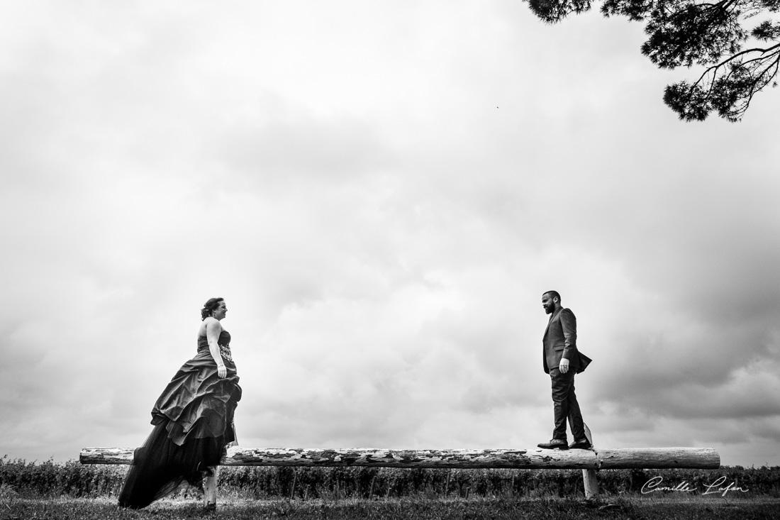photographe-mariage-montpellier-black-dress-metal