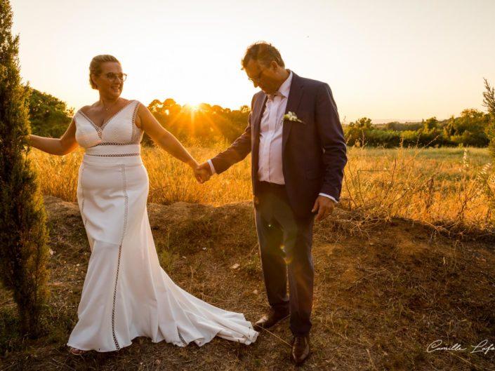 Photographe de Mariage à Béziers. Reportage au Clos de Maussanne