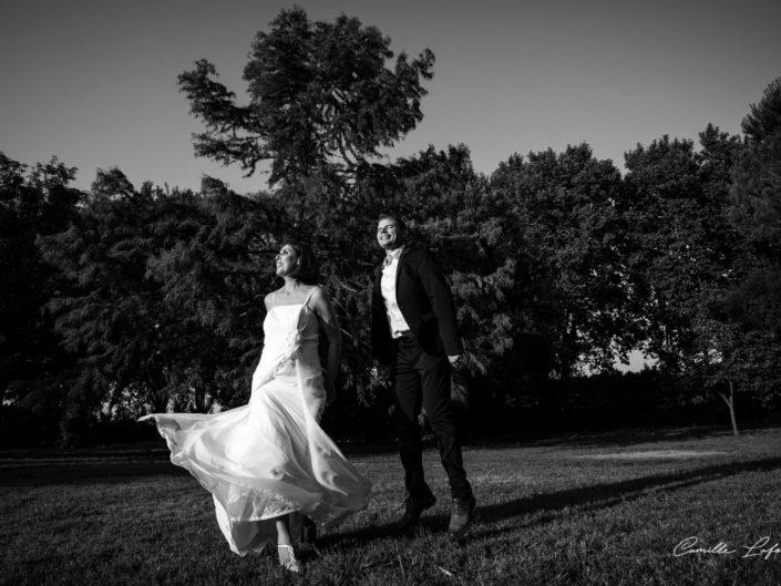 Reportage de Mariage au Domaine du Petit Malherbes près de Montpellier. Photographe Nimes et Camargues