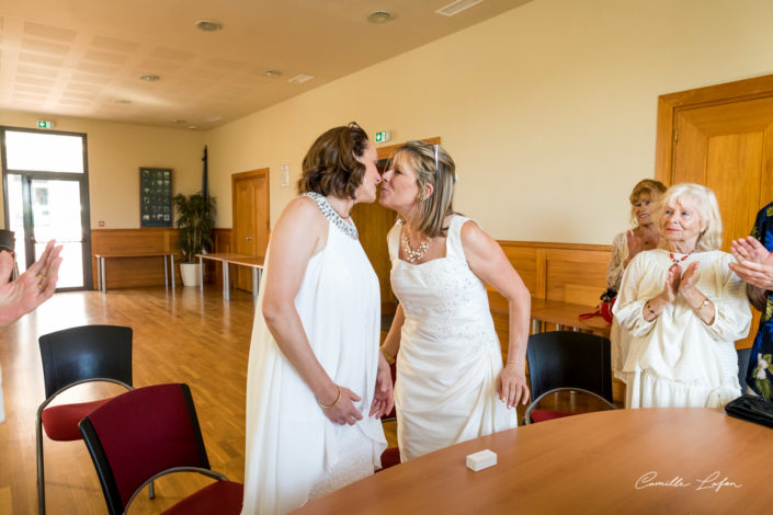 photographe mariage montpellier vic lesbienne