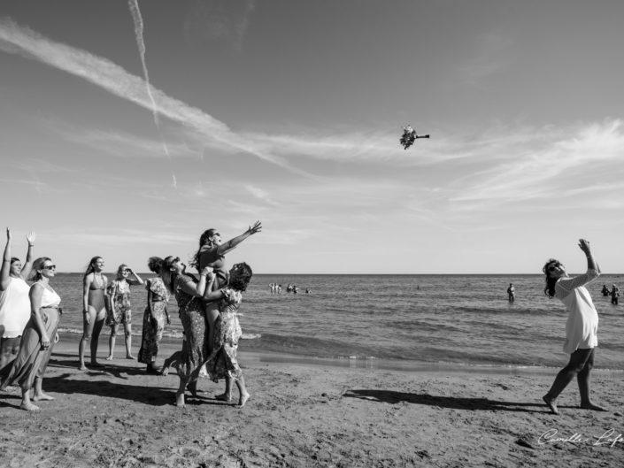 Mariage à Frontignan sur la plage des aresquiers près de Montpellier